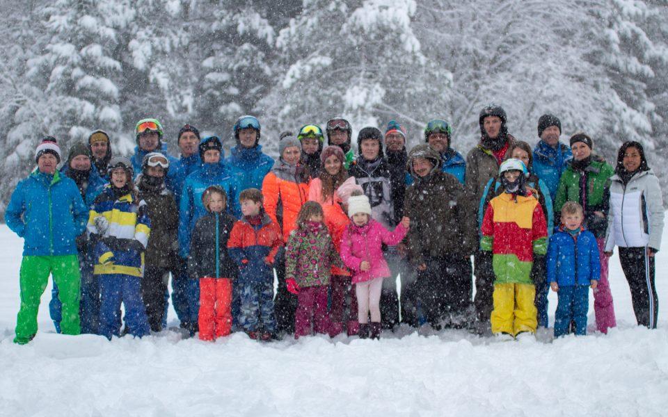 Bilder von den Skikursen 2019