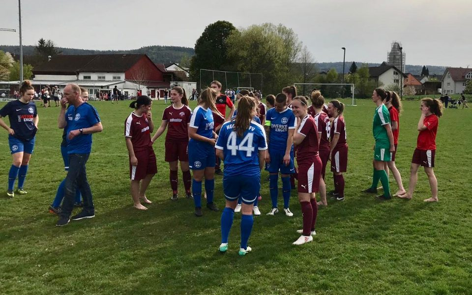 Damen im Halbfinale des SBFV Verbandspokals