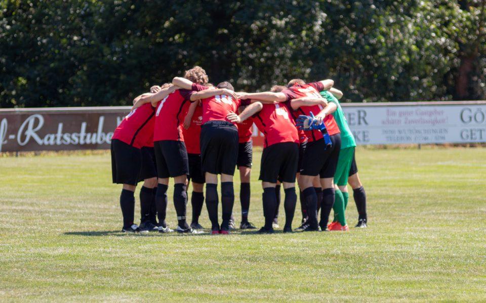 Bilder vom Spiel FCH I – FC Schlüchttal vom 12.08.2018